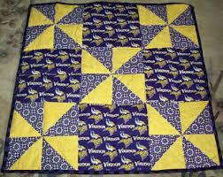 Vikings Comforter Vikings Quilt Etsy