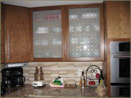 Glass Design For Kitchen Astonishing Kitchen Modern Frosted Glass Cabinet Door With Brown