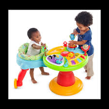 table eveil bebe avec siege bright starts table d activites zippity zoo around we go