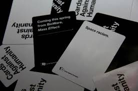mass effect themed cards against humanity expansion now available