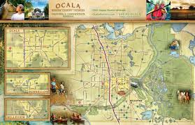 Map Of Ocala Fl Legendary Trails The Greenway