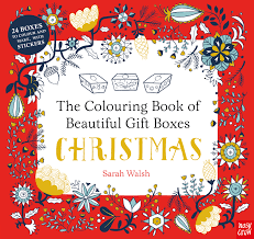 colouring book beautiful gift boxes christmas nosy crow