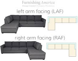 Laf Sofa Sectional Laf And Raf Sofa What Does It Left Arm Facing Right Arm