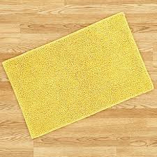 Yellow Bathroom Rugs Yellow Shag Bath Mat Bath Rugs Cost Plus World Market Polyvore