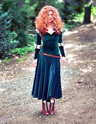 Ariel Halloween Costume Women Diy Merida Costume Hair U0026 Makeup Tutorials Babble