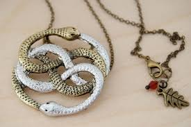 necklace story images Auryn necklace neverending story necklace 80 39 s fantasy pendant jpg