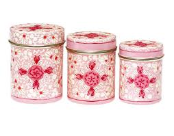 Kitchen Decorative Canisters by Decorative Metal Kitchen Canisters Colorful Metal Canisters For
