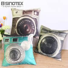 wholesale home decore vintage camera cushion 45 45cm 17 7 17 7 u0027 u0027 wholesale home decor in