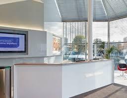 Bespoke Reception Desk Modern Reception Desks Fusion Executive Office Furniture