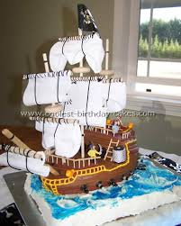 pirate ship cake coolest pirate ship cakes photo gallery