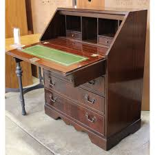 drop front secretary desk upscale consignment
