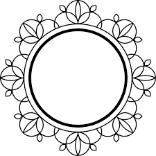 free illustration frame black deco decoration free image