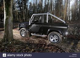 land rover defender svx 2008 land rover defender 90 svx special edition stock photo