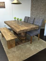 Bench And Table Set 6ft Anne Boleyn Set With Bench U0026 3 Chairs Dining Table And Chairs