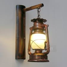 Lantern Wall Sconce Captivating Kerosene Wall Sconce Retro Nostalgia Building