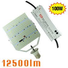led parking lot lights vs metal halide 350w metal halide replacement 100w led street light retrofit 2835smd