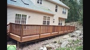 mahogany wood decking installation boston ma capital construction