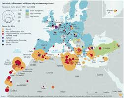 Interactive Europe Map by Interactive Map Deaths At Europe U0027s Borders Migrants At Sea