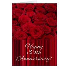 35 wedding anniversary happy 35th wedding anniversary gifts on zazzle