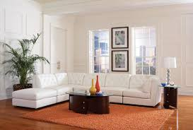 White Sectional Sofa With Chaise Quinn White Sectional Sofa 551021 Coaster Furniture Sectional
