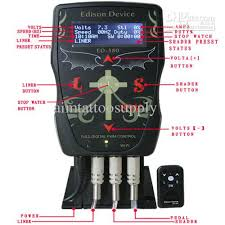 classical edison device ed380 digital tattoo power supply for