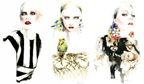 7 fashion sketch illustrators on instagram