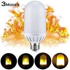 Flickering Light Bulb Halloween Amazon Com Flickering Light Bulbs E26 Standard Base Atmosphere
