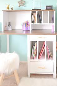 Diy Hutch Diy Desk Hutch With Free Plans From Ana White I Am A Homemaker