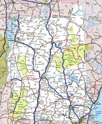 Map Of Maine Usa by Map Of New Hampshire And Vermont
