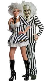 his and hers costumes beetlejuice costumes simply fancy dress