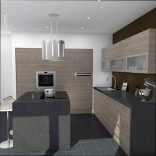 cuisine contemporaine grise cuisine bois cuisine contemporaine grise et bois