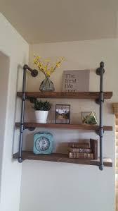 25 best iron pipe shelves ideas on pinterest diy pipe shelves