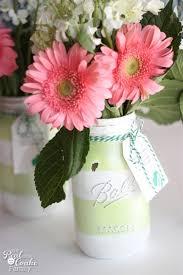 Mason Jar Vases Gift Ideas Make Gorgeous Mason Jar Vases