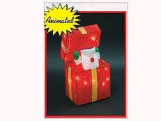 Christmas Outdoor Decorations Gift Boxes by Lighted Animated Hula Mouse Christmas Outdoor Decor Yard Display