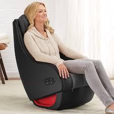 Massage Pads For Chairs React Shiatsu Massage Chair At Brookstone U2014buy Now