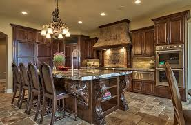Island Style Kitchen Wood Island Style Kitchen Design U2014 Railing Stairs And Kitchen