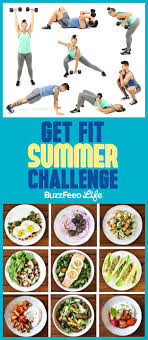 Buzzfeed Challenge This Is The Only Summer Workout Plan You Need