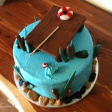 12 Best Outdoors Cakes Images On Pinterest Fishing Cakes Cake