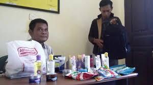 Parfum Di Alfamart pria ini ngutil tiga kali sehari di minimarket berbeda lihat yang