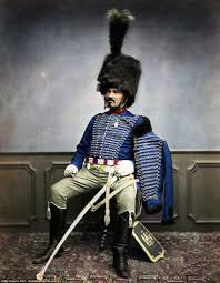 napoleon history quote in french napoleon u0027s troops captured in remastered pictures daily mail online