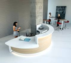 Salon Reception Desk Furniture Desk Curved Reception Desk Construction Curved Reception Desk
