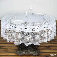 Fitted Round Tablecloth 70