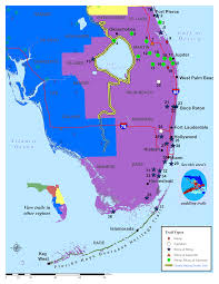 Land O Lakes Florida Map by Southeast Florida Land Trails