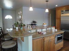 two level kitchen island designs not a bad shape but i m not sure i want it with two levels
