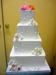 Square Wedding Cakes Elegant Custom Wedding Cakes Elegance U0026 Glamour Wedding Cakes