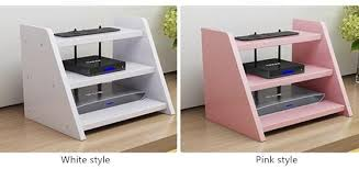 Small Desk Top Household Multifunctional Small Desktop Storage Rack Shelf Router Box