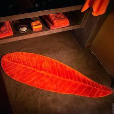 Orange Bathroom Rugs Bright Orange Bathroom Rugs Rug Designs