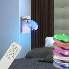 led wand lampe rgb fernbedienung wohnzimmer dimmer leuchte