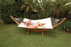 excalibur outdoor living timber arc double hammock u0026 stand auction