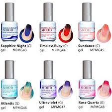 perfect match colors amazon com lechat perfect match gel polish mood changing colors